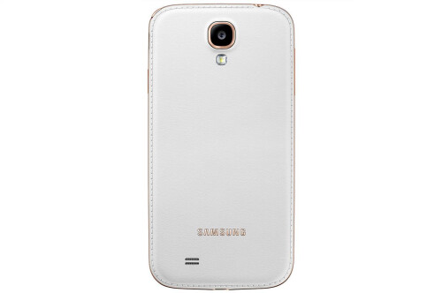 Samsung revises the Galaxy S4 design with more faux-leather back versions