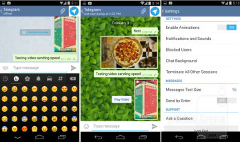 Telegram secure instant messaging app review: encrypted speed
