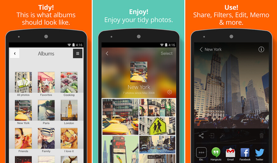 how to change where your photos are stored on android