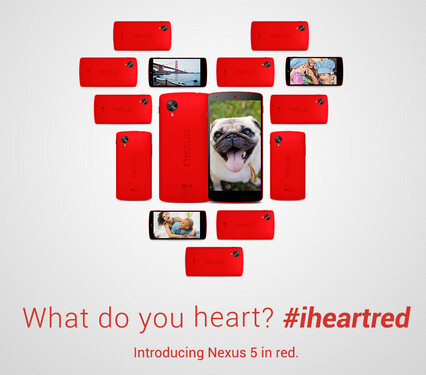 Win a Red Nexus 5 from Google - Win a Red Nexus 5 and an accessories bundle from Google