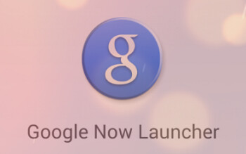 Splash screen for the newly named Google Now Launcher