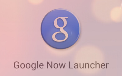 Splash screen for the newly named Google Now Launcher - Google changes name of Nexus 5 launcher; move could signal its availability soon on Google Play Store