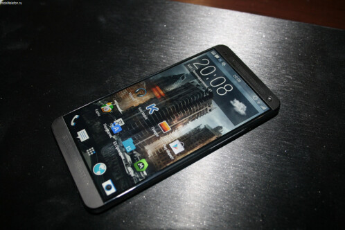 Leaked photos of the HTC M8
