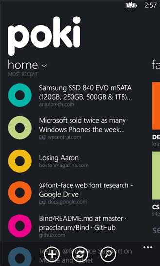 Poki just became the best Pocket app for Windows Phone
