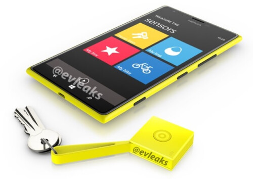 Nokia Treasure Tag app and the Treasure Tag accessory
