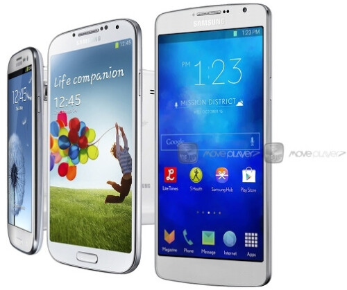 New Samsung Galaxy S5 concept - with and without physical home button