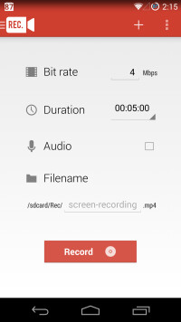 Rec (Screen Recorder) app review: record your Android screen