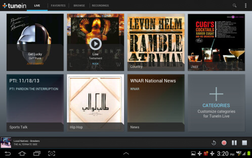 TuneIn Radio Pro - $3.99 down from $6.99