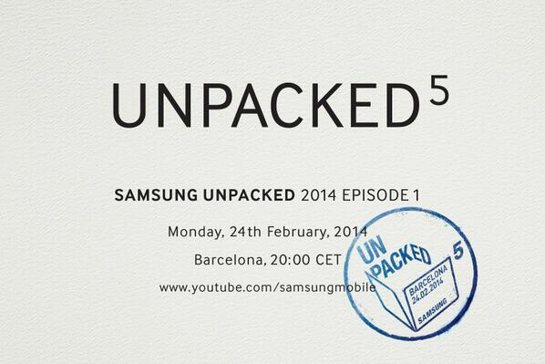 Samsung Galaxy S5: the next big surprise - February 24th
