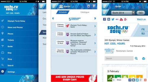 Sochi 2014 Guide - Android, iOS, Windows Phone - Free