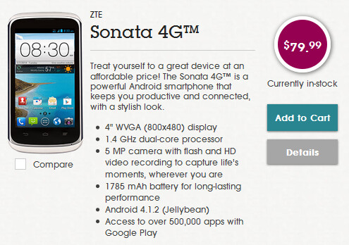 The ZTE Sonata 4G is now available from Aio - Three new smartphone models join the Aio lineup