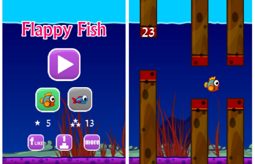 Flappy Fish (Android, Windows Phone)