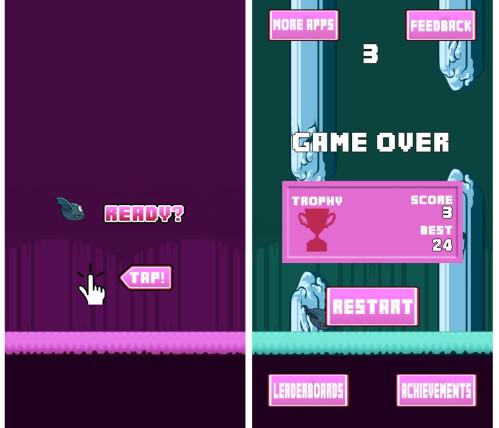 Flappy Bird - Bat Version (Android)