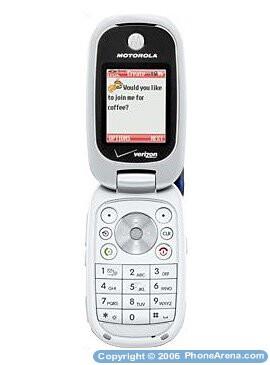 Verizon Wireless Launches Pebl Like Motorola W315