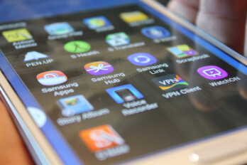 Samsung uses AOSP with GMS, and a strong suite of competing custom apps