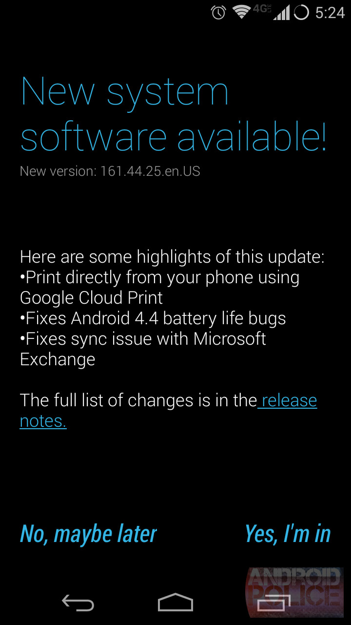 Unlocked Moto X starting to get Android 4.4.2 update