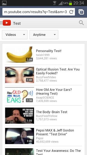Google testing new mobile YouTube card UI