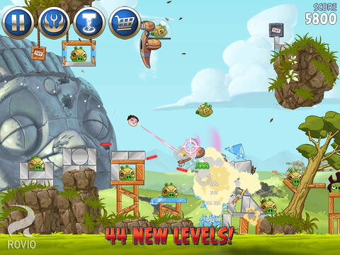 Angry Birds Star Wars II goes $0.99 from $2.99