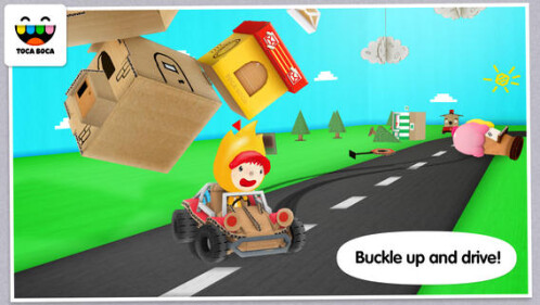 Toca Cars goes free from 2.99