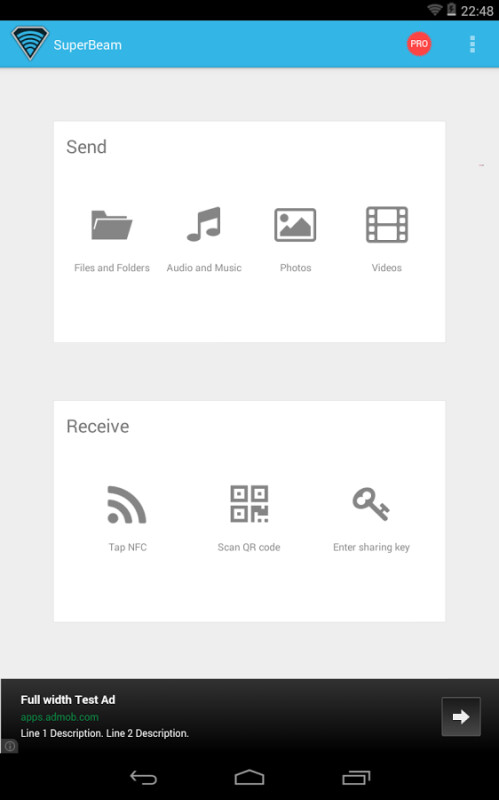 SuperBeam for Android