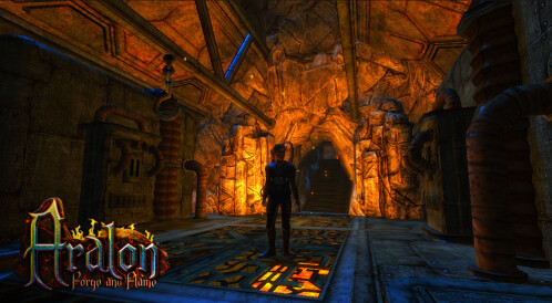 First official screenshots of Aralon Forge and Flame
