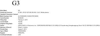 LG G3 name to be trademarked with the USPTO