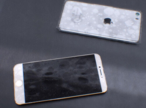 Leaked photos allegedly showing the Apple iPhone 6