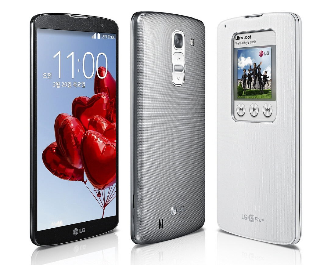 5.9-inch LG G Pro 2 officially unveiled, runs Android 4.4 ...