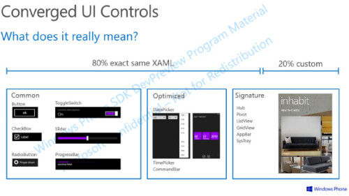 Leak shows universal apps for both Windows and Windows Phone are coming