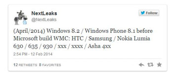 A bunch of new Lumias might be arriving with WP 8.1, including a global version of Verizon's Icon