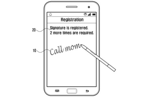 Next-gen Samsung Galaxy Notes could use handwriting recognition to allow actions being performed from the lock screen