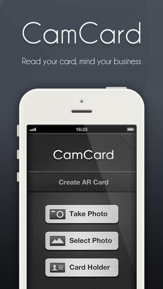 CamCard - iOS - $0.99 (70% down)