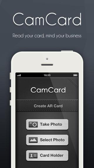 CamCard - iOS - $0.99 (70% down)