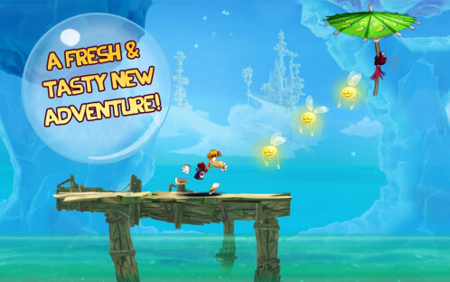 Rayman Fiesta Run -Android- $1.49 from $2.99