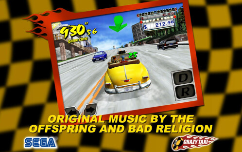 Crazy Taxi -Android, iOS- $0.99 from $4.99