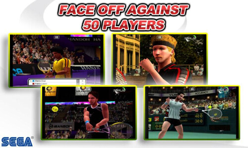 Virtua Tennis Challenge -Android, iOS- $0.99 from $4.99