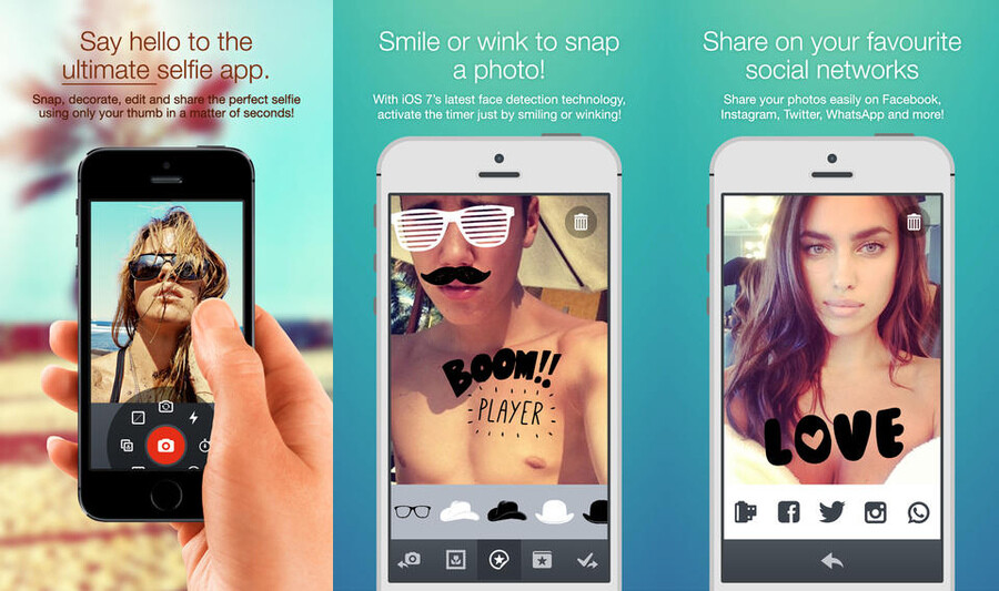 how to add snapchat filters to pictures already taken