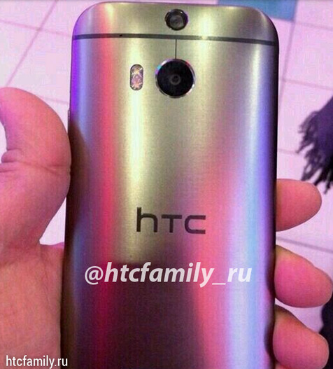HTC M8, live photo and video of render