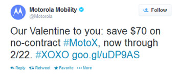 Motorola extends $70 sale on the Motorola Moto X