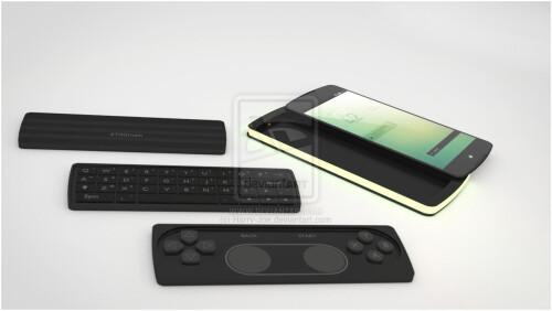 Google Nexus P3 concept by Giuseppe Avanzato and Enrico Vicari