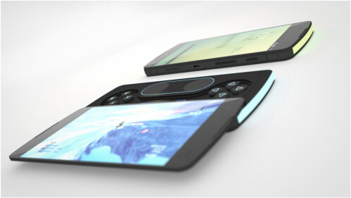 Google Nexus P3 concept by Giuseppe Avanzato and Enrico Vicari