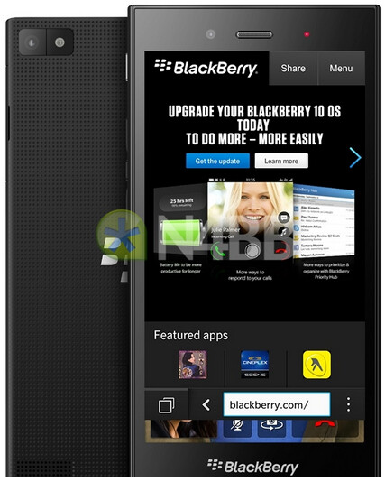 An alleged render of the BlackBerry Jakart