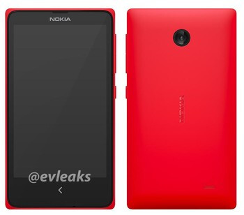 Nokia X press image leaks out
