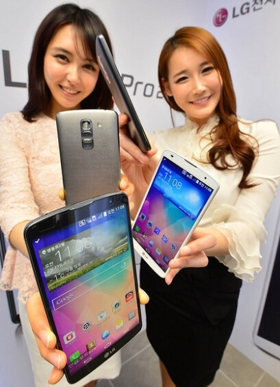 LG G Pro 2 and its Knock Code feature