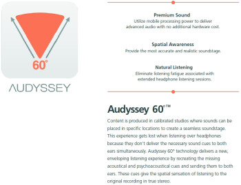 Audyssey to showcase new 60 degree audio technology for smartphones at MWC 2014