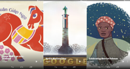 Google Doodle Muzei