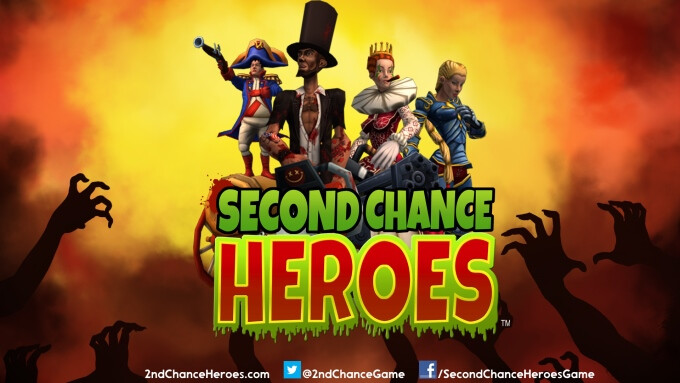 Second Chance Heroes for iOS lets you fight sentient burgers with a chainsaw-wielding Abraham Lincoln