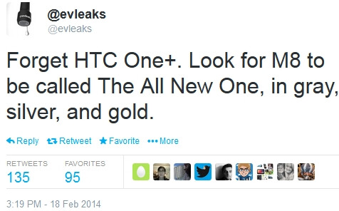 HTC M8 to be called The All New One? Three color versions expected, including gold