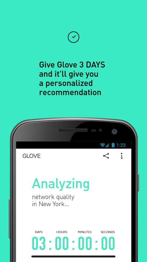 Glove for Android screenshots