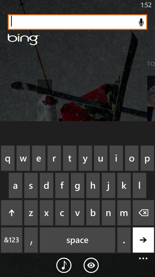 Gesture keyboard